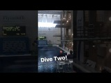 InstaStory DLB Tom Daley &amp Tonia Couch. Mixed 10m synchro. Dive 2 (British National Diving Cup '17)