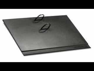 AT A GLANCE Loose leaf Desk Calendar Base for 3.5 x 6 Inch Page Size Black