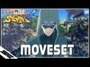 Naruto Ultimate Ninja Storm 4 - Shino COMPLETE Moveset