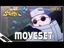 Naruto Ultimate Ninja Storm 4 - PTS Shino COMPLETE Moveset