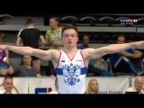 Kirill Prokopev (RUS) FX EF @ Osijek Zito World Cup Gymnastics 2017