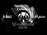 50 Years of James Bond Mini Mix Compilation - A.Skillz &amp Krafty Kuts