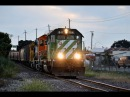 2 BNSF Trains in Richmond, CA 7-11-15