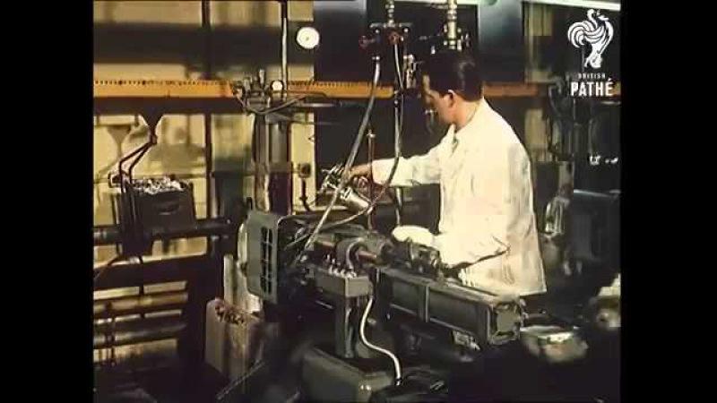 Производство моделей на фабрике Matchbox 1962 Production models at the factory Matchbox