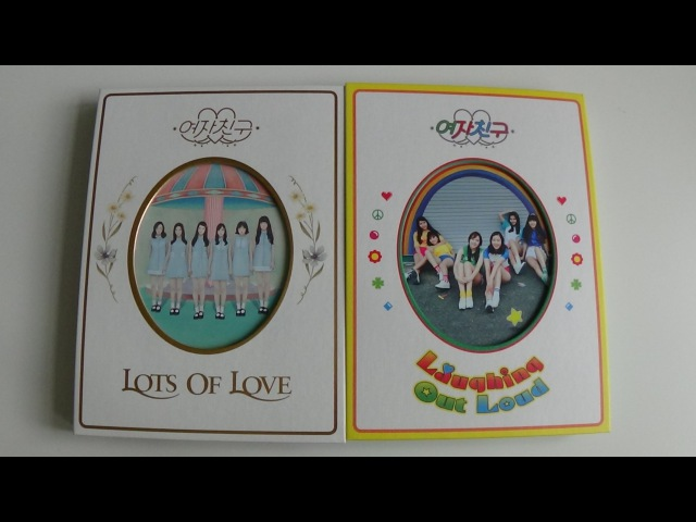 GFRIEND 여자친구 1st Studio Album LOL (Lots of Love Laughing Out Loud Edition)