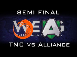 TNC vs Alliance Semi Final WESG Highlights Dota 2
