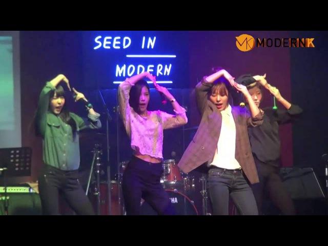 마마무 썸남썸녀2014년 3월 28일 기획매니지먼트반 기획공연
