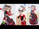 HARLEY QUINN Toy Doll CAKE How To Decorate by CakesStepbyStep