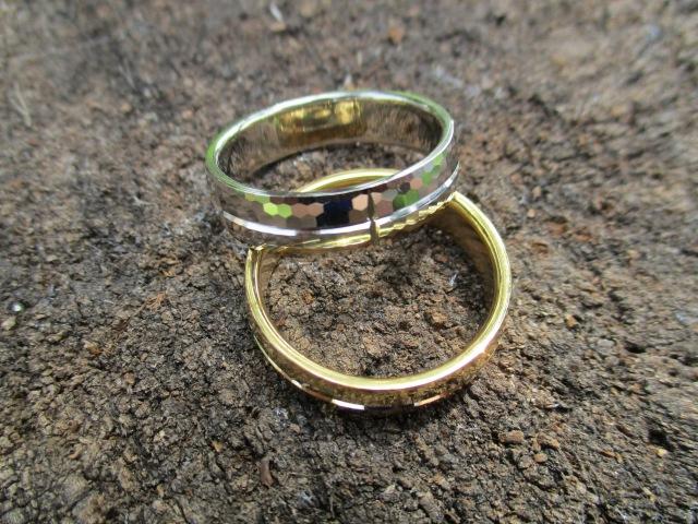 Diamond cutting machine for wedding ring/ Обручальные кольца с алмазной гранью.