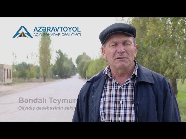 Füzuli rayonunda yol infrastrukturu sahəsində mühüm layihə icra olunur