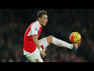 Mesut Özil - All Key Passes 2015/16