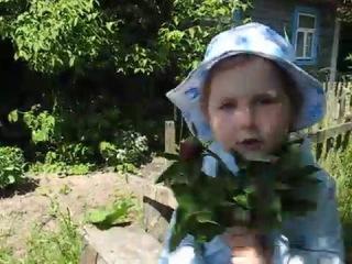 Ульяна поет песню Евгении Отрадной