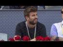 Gerard Piqué es insultado y silbado en el Mutua Madrid Open de tenis