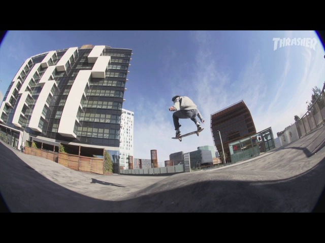 Jarne Verbruggen Never Skatebored - Element