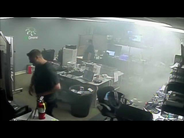 LiPO Spontaneously catches on fire at EZDrone