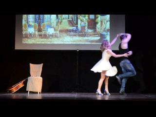 Отчетный концерт Ritmo Dance 2 июля. Витя Башарин Нюта (бачата) - Неслучайная встреча