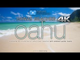 HAWAII BEACHES in 4K Oahu (+ relaxing guitar music) 90 Minute Dynamic Nature Experience in UHD