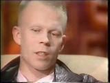 беседа с Vince'ом Clarke'ом (ex DEPECHE MODE) 1986