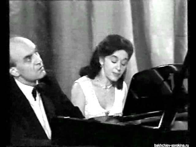 A. Bakhchiev E. Sorokina play Schubert's Galopp Ecossaise
