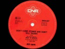 Max N Specs - Don't Come Stoned And Don't Tell Trude (Astrolabio Discotheque) 1980