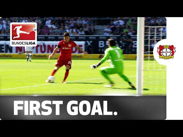 Leverkusens Aranguiz Opens Bundesliga Account in Style