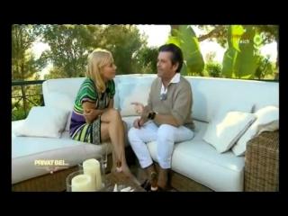 Thomas Anders in seiner Finca auf Ibiza. Mit Judith Milberg für glitz TV. (2012) RUS MTRF