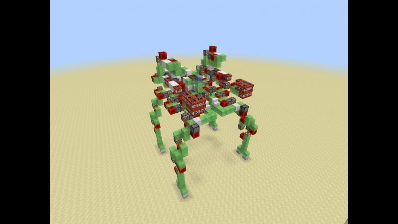 карта на майнкрафт механический робот 1.7.5 #11