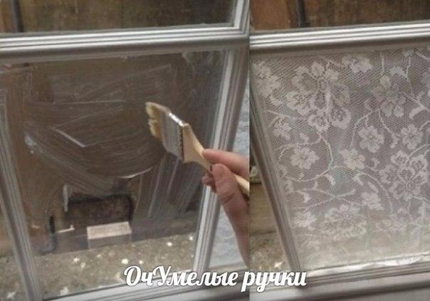 Кружева на окнах
