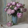 Цветы из фоамирана (м.к.) и холодного фарфора