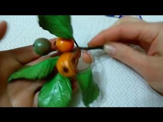 Виктория Смирнова Райские яблочки Фоамиран и масса для лепки