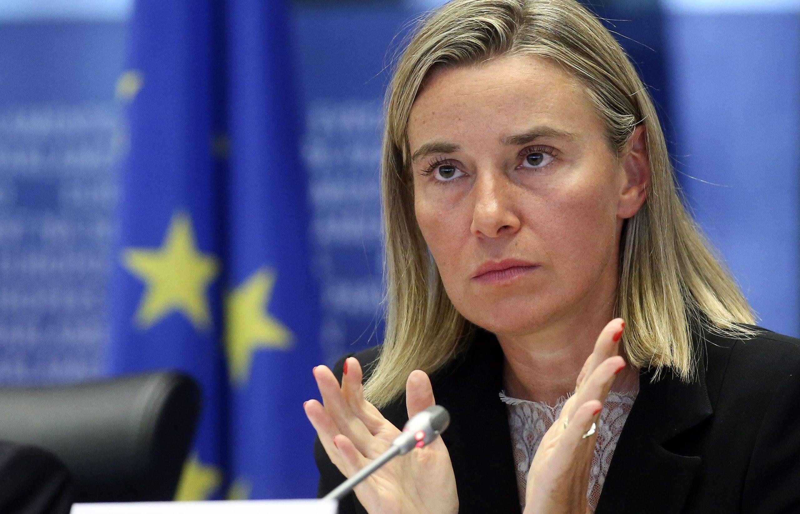 Могерини обсудила с главой МИД Украины ситуацию в Крыму
