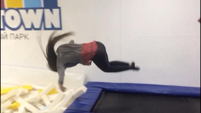 Напрыгались в Jump Town😋😛