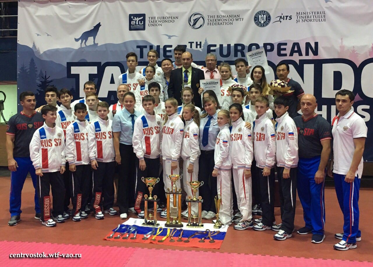 EUROPEAN_TAEKWONDO_CADET_Russia_team-2016