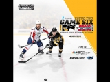 NHL 17 PS4. 2017 STANLEY CUP PLAYOFFS 100th SECOND ROUND GAME 6 EAST WSH VS PIT. 05.08.2017.(NBCSN) !