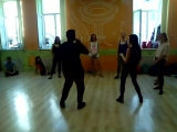 Вал Клементе и Алла Сидорова - зеркало в танце - мастер-класс 28.08.2016