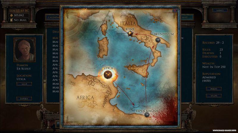 Age Of Gladiators (2016) PC - Скриншот 2