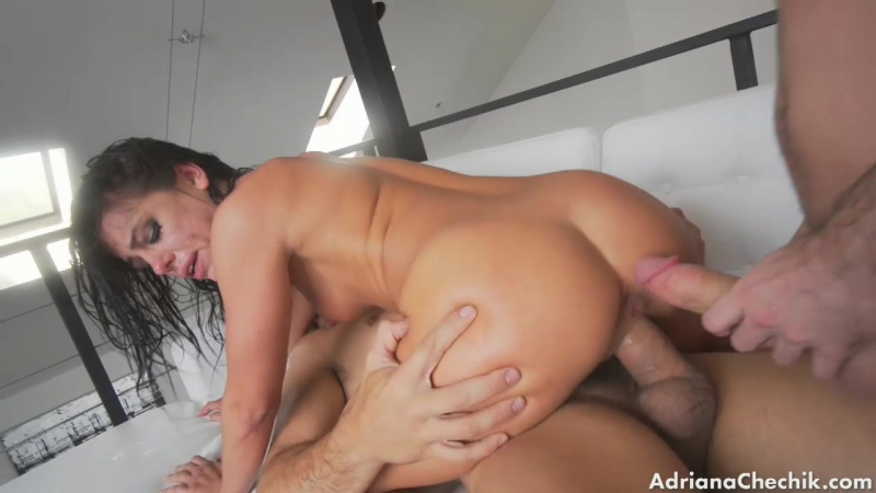 Adriana Chechik [HD 720, all sex, ANAL, DAP, DP, new porn 2016]