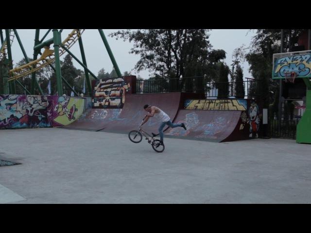 Serhii Supriaha BMX flatland promo| Сергей Супряга велосипедное шоу