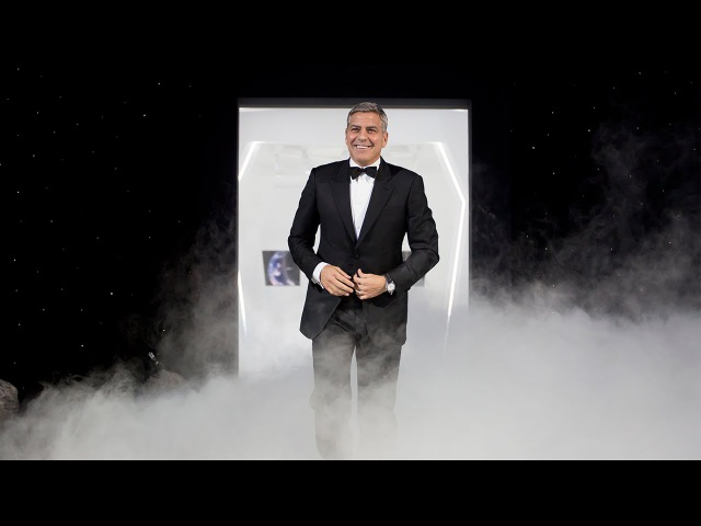 OMEGA Speedmaster event in Houston with George Clooney and astronauts