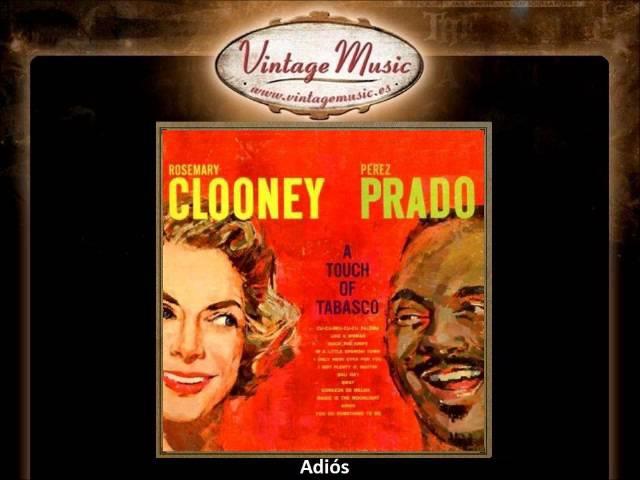 Rosemary Clooney Perez Prado - Adiós (VintageMusic.es)