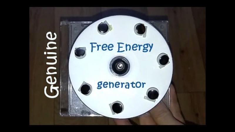 Free energy generator, really working free energy magnet motor