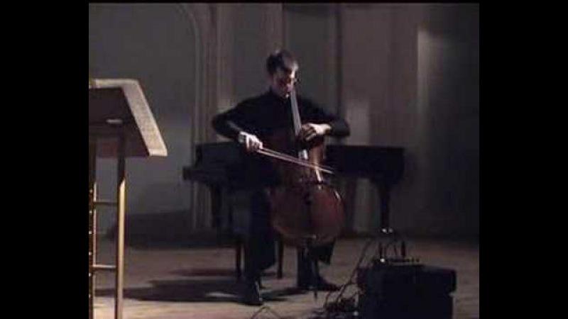 E Ysaye sonata for cello solo 1st m