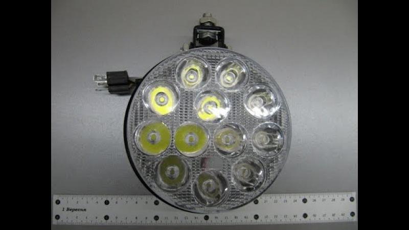 Дополнительные светодиодные фары для грузовиков 36 Вт