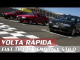 FIAT TEMPRA TURBO X TIPO SEDICIVALVOLE X STILO ABARTH - VR C RUBENS BARRICHELLO #85  ACELERADOS