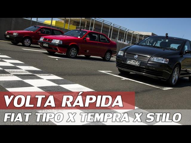 FIAT TEMPRA TURBO X TIPO SEDICIVALVOLE X STILO ABARTH - VR C/ RUBENS BARRICHELLO 85 | ACELERADOS