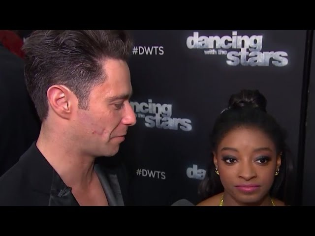 'Dancing With The Stars' Simone Biles On The Reaction To Her Rashad Jennings Comment