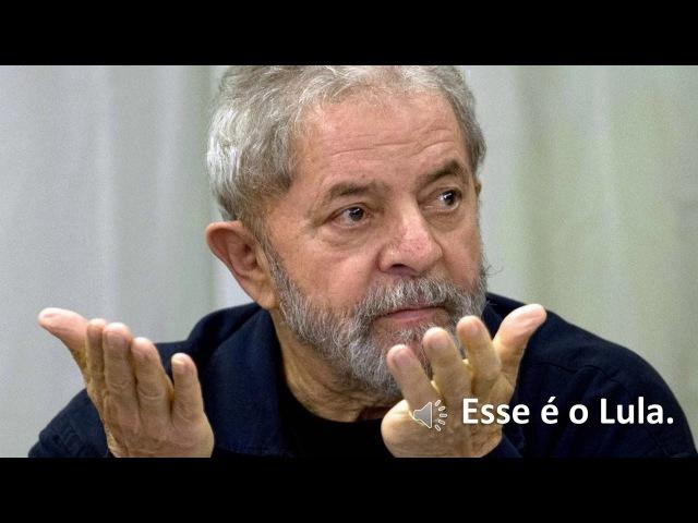 Em áudio vazado Lula diz que coxinha tem que tomar porrada