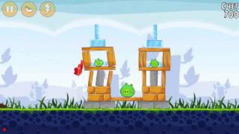 Neket играет в Angry Birds