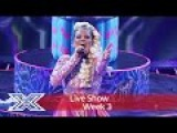 Saara Aalto belts out Bjorks Oh So Quiet    Live Shows Week 3  The X Factor UK 2016