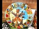 Наталья Bliss Делаем интересные и яркие часы «Алиса в Стране Чудес»